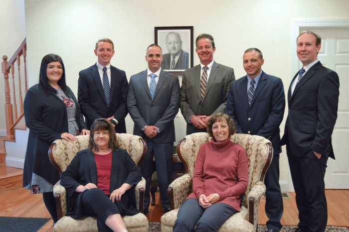 The insurance professionals at Louis Panciera Insurance in Westerly, RI.